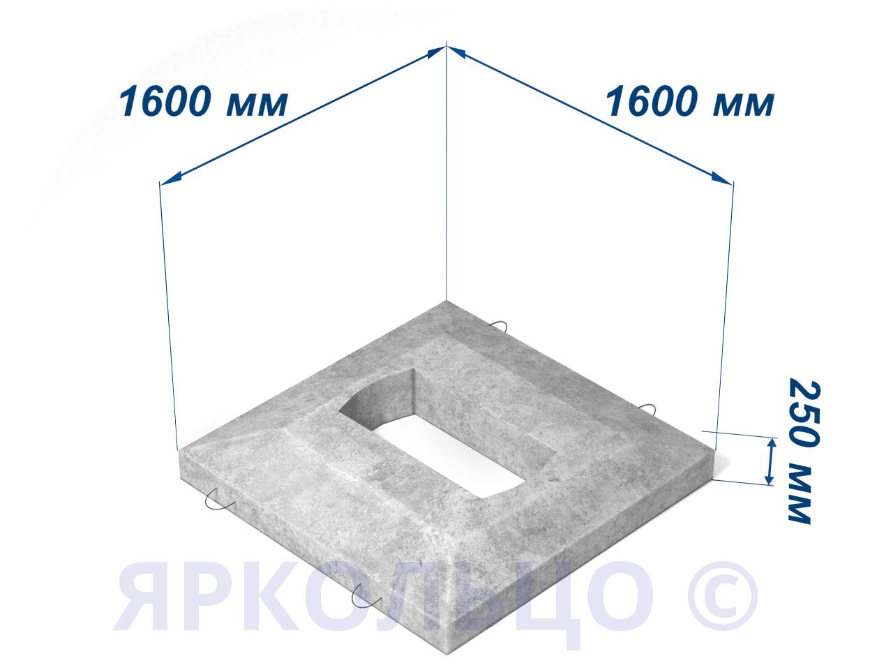Плита перекрытия ОП-1Д