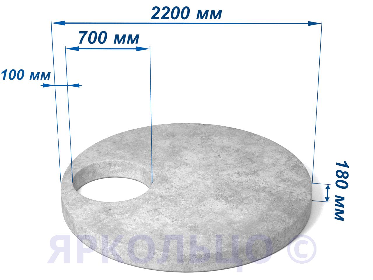 Плита перекрытия ПП 20.2 (нагрузка-2)