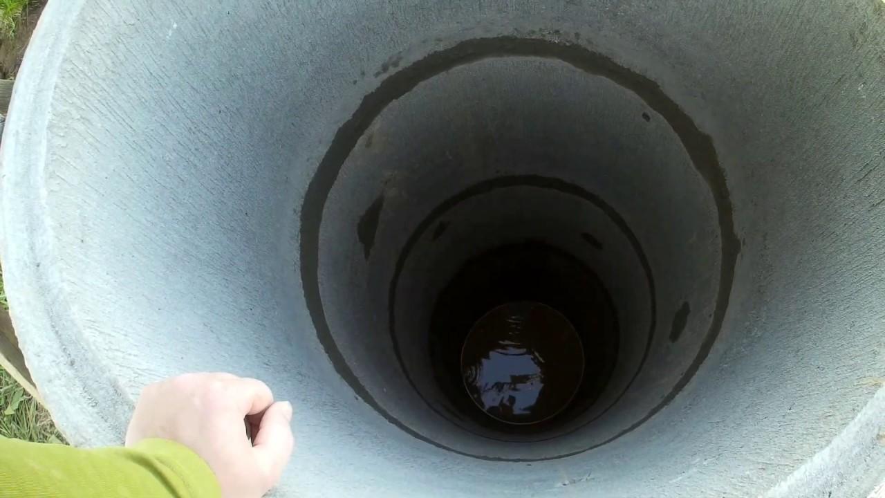 Какой уровень воды должен быть в колодце