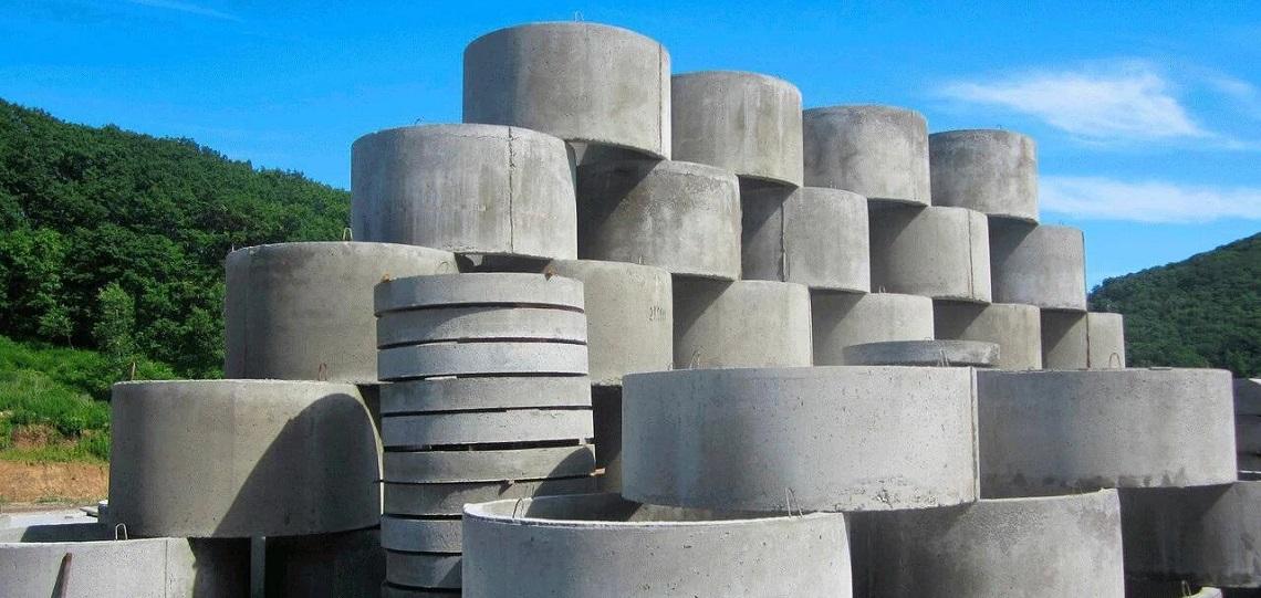 Виды бетонных колодезных колец
